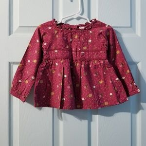 •baby gap floral blouse 2years•
